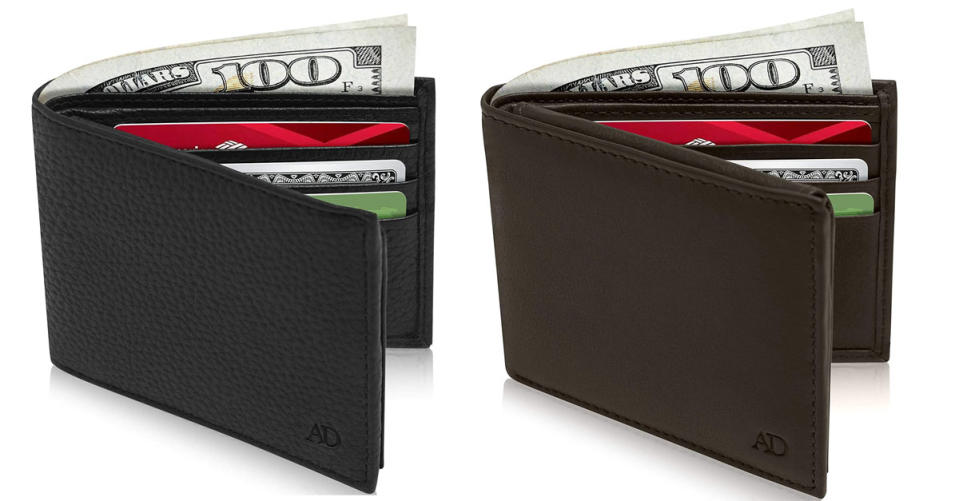 Access Denied Slim Leather Bifold Wallets For Men (Photo: Amazon)
