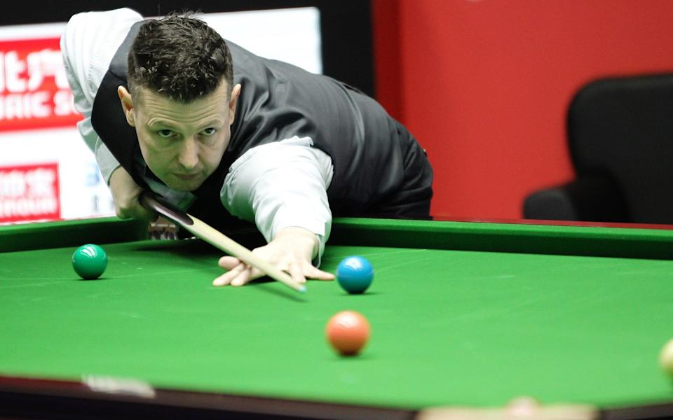Peter Lines - British snooker player Peter Lines accused of offering Chinese opponent outside for a fight after defeat - GETTY IMAGES