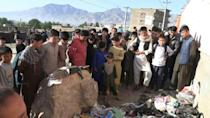 Afghanistan has suffered its deadliest attack in a year outside a girls' school in Kabul -- after that, the Taliban and the government in Kabul called a three-day ceasefire for Eid