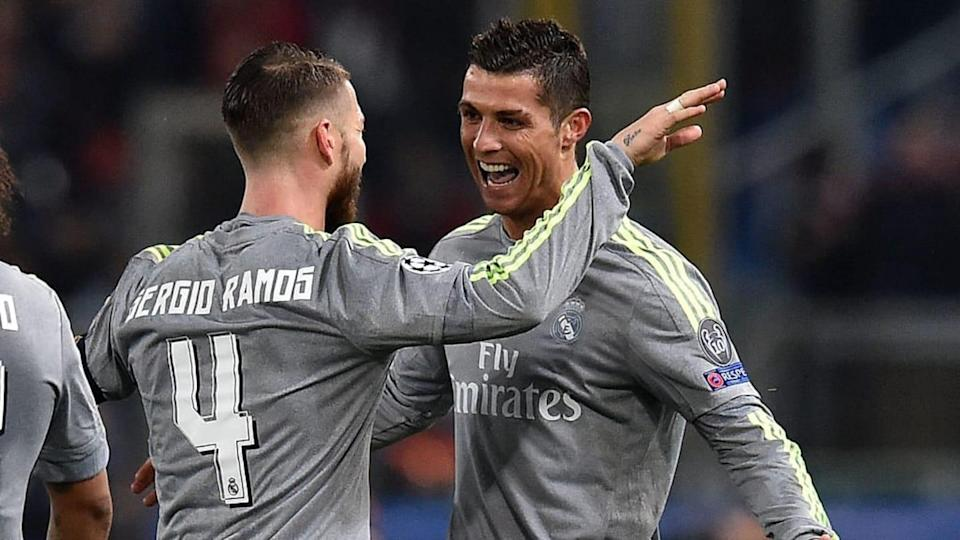 Cristiano Ronaldo y Sergio Ramos, Real Madrid | Giuseppe Bellini/Getty Images