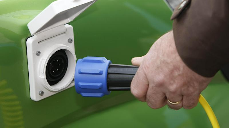 Spike in number of supermarkets offering electric vehicle chargers