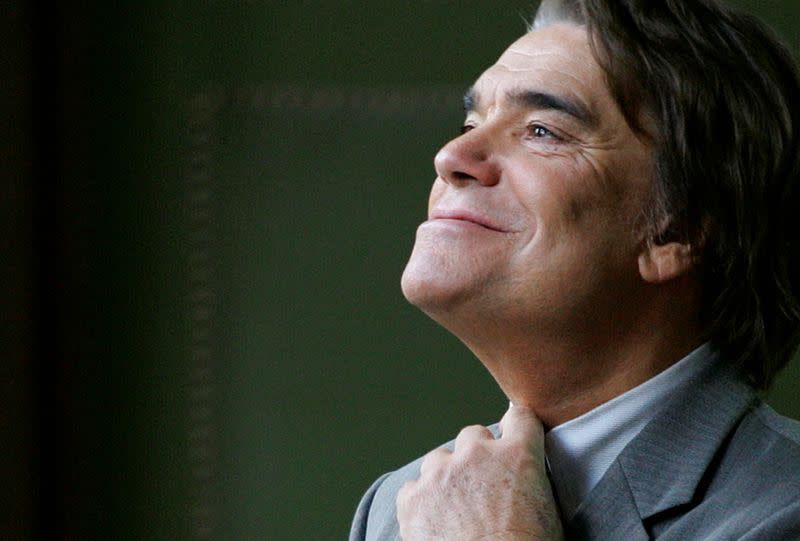 FILE PHOTO: File picture shows French businessman Tapie at the Justice court in Paris