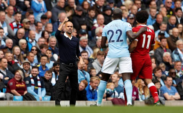 <p>In pictures: Manchester City v Liverpool </p>