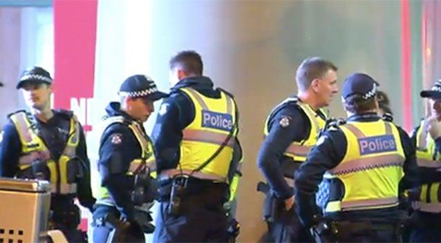 Police used capsicum spray to subdue the teens. Source: Sunrise