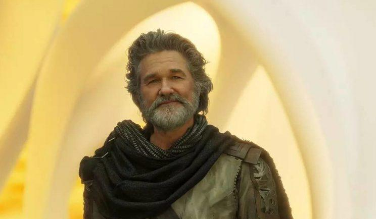 Kurt Russell in Guardians of The Galaxy 2 - Credit: Marvel