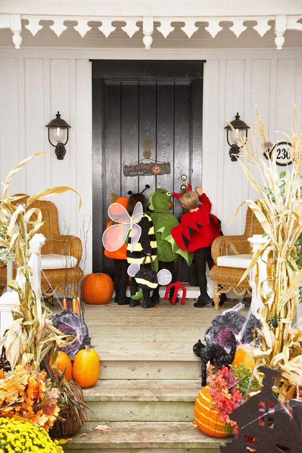 "<p>The entire neighborhood stops by on October 31, so fix up the front porch and yard with these <a href=""https://www.housebeautiful.com/shopping/home-accessories/g963/elegant-halloween-home-decorations/"" target=""_blank"">cool</a> products and easy DIYs. Your house will be the talk of the town, and trick-or-treaters will feel especially welcome—or maybe too scared to approach the front door, depending on the Halloween vibe you're going for. Feeling ambitious? Go for a bonus round of <a href=""http://www.housebeautiful.com/home-remodeling/diy-projects/g3622/halloween-wreaths/"" target=""_blank"">Halloween wreaths</a> and <a href=""http://www.housebeautiful.com/entertaining/holidays-celebrations/g2554/halloween-decorations/"" target=""_blank"">DIY decorations</a>.</p>"