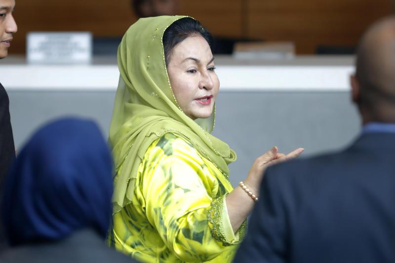 Ex-Malaysian PMs wife charged with money laundering