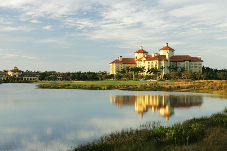 """<p>Naples, Florida, is a haven for snow birds, golf enthusiasts, and collectors alike, with world-class shopping at every turn. Here at <a href=""""https://www.ritzcarlton.com/en/hotels/naples/naples-beach/hotel-overview"""" rel=""""nofollow noopener"""" target=""""_blank"""" data-ylk=""""slk:the Ritz-Carlton Naples"""" class=""""link rapid-noclick-resp"""">the Ritz-Carlton Naples</a>, guests will find the best of everything they're looking for out of a trip to the famous beach town, with Greg Norman–designed golf courses, an acclaimed spa, eight dining options, and close proximity to all the cuisine, culture, and shopping. </p>"""