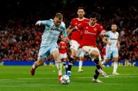 Carabao Cup - Third Round - Manchester United v West Ham United