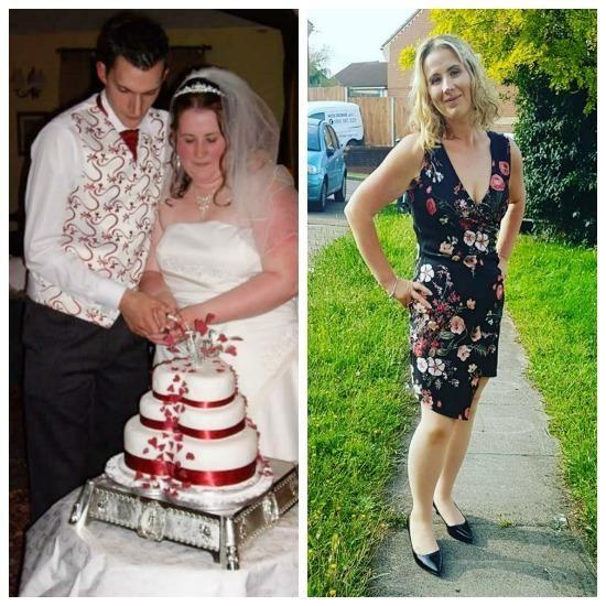 Alisha-Kate Armstrong was binging on 21 burgers a week but has now lost 45kg. Photo: Caters News