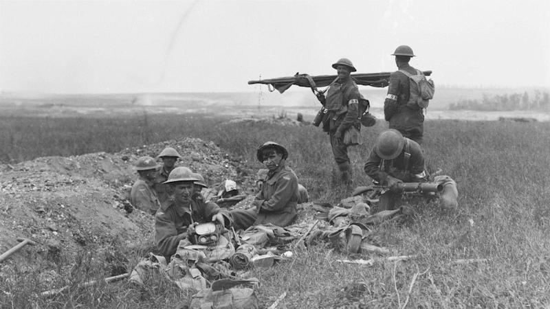 Australian and US troops fought together for the first time at Hamel on July 4, 1918