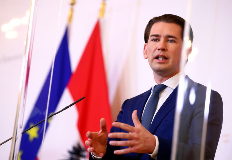 Austria to loosen face-mask requirement, scrap table-size limit in bars