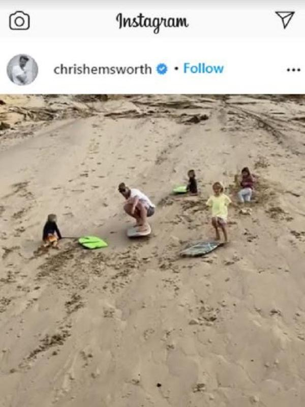 Chris Hemsworth (Foto: Instagram/@chrishemsworth)