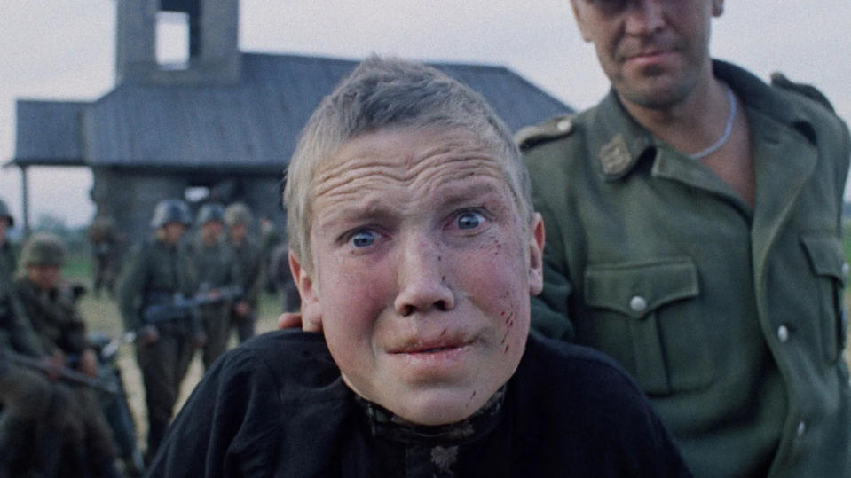 Aleksey Kravchenko in classic war movie 'Come and See'. (Credit: Sovexportfilm)