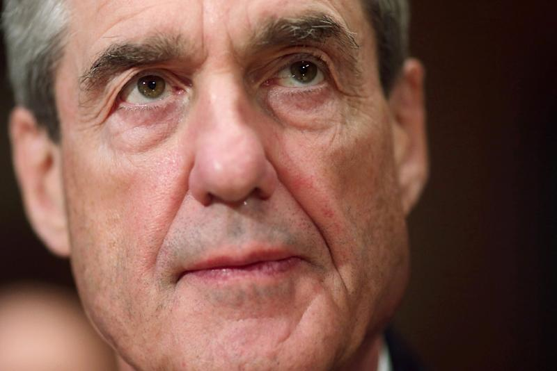 Robert Mueller, the special counsel leading the Russia investigation, has issued 22 indictments so far (AFP Photo/CHIP SOMODEVILLA)