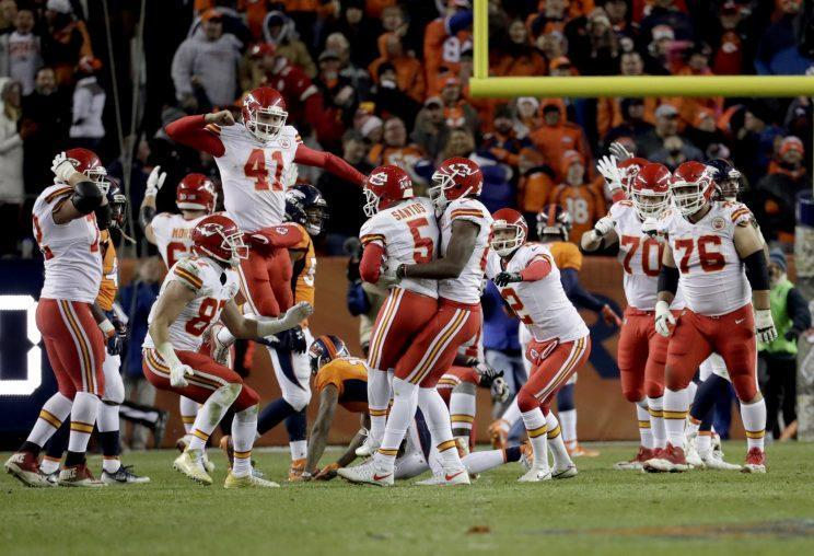 The Chiefs' overtime win at Denver has a huge impact on the playoff picture (AP)