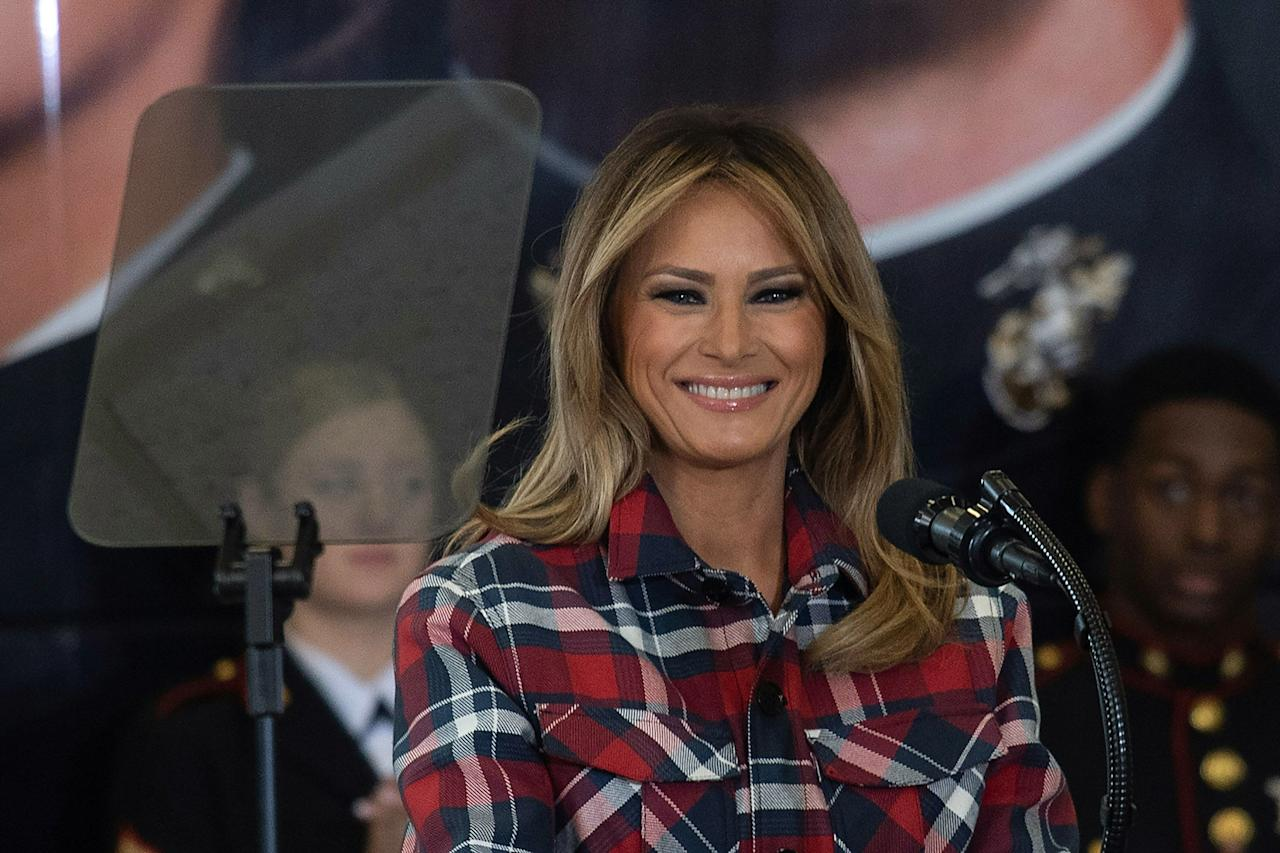 <p>The former model has carefully curated her political style.</p>