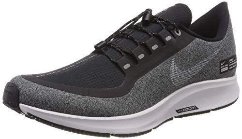 """<p><strong>Nike</strong></p><p>amazon.com</p><p><strong>$149.99</strong></p><p><a href=""""https://www.amazon.com/dp/B07BR8BWH3?tag=syn-yahoo-20&ascsubtag=%5Bartid%7C2140.g.22853139%5Bsrc%7Cyahoo-us"""" rel=""""nofollow noopener"""" target=""""_blank"""" data-ylk=""""slk:Shop Now"""" class=""""link rapid-noclick-resp"""">Shop Now</a></p><p>Granted you aren't running in a snow storm, these running shoes feature a water-repellent upper that will keep your feet dry and an outsole designed to give you optimal grip on wet surfaces. This is Romano's go-to when conditions are generally snowy, but well-trafficked enough that she doesn't need aggressive lugs. </p>"""