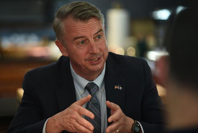 Republican Ed Gillespie is promoting tax cuts in his run for governor.