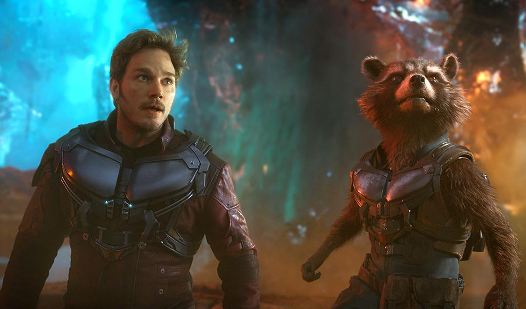 <p>A welcome dose of idiosyncrasy in the Marvel universe, James Gunn's <i>Guardians</i> ensemble is even weirder and more delightful in this second go-round. While the plotting is haphazard, the film's manic energy, psychedelic space visuals, and plentiful toddler Groot scenes are impossible to resist — not to mention the killer soundtrack. —<i>G.W.</i> (Photo: Marvel)<br /><br /></p>