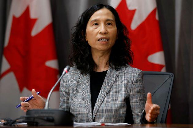 Canada's Chief Public Health Officer Dr. Theresa Tam attends a news conference in Ottawa on March 23, 2020.