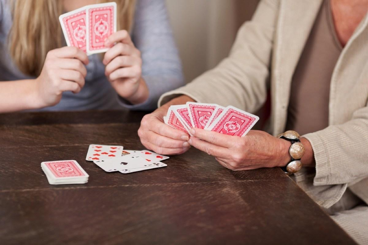 """Maybe don't blame your bad luck at the poker table on your gambling abilities; there are more ways to arrange a deck of cards than there are <a rel=""""nofollow"""" href=""""http://www.fnal.gov/pub/science/inquiring/questions/atoms.html"""">total atoms on the earth</a>! If a card deck is shuffled properly, there's a pretty high chance that it comes out in an arrangement that has never existed before, because a deck of 52 cards has an astronomically large number of<a rel=""""nofollow"""" href=""""http://www.murderousmaths.co.uk/cardperms.htm"""">permutations</a>. (Put simply: It's a <em>69-digit</em> number that begins with 80.)"""