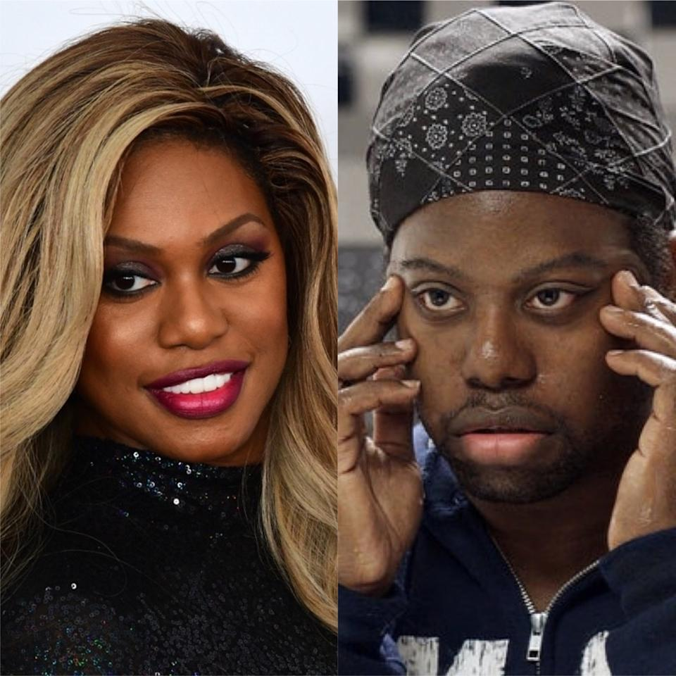 """<strong>Laverne Cox's </strong><em>Orange Is the New Black</em> character, Sophia, is a transgender woman. When the series decided to delve into Sophia's past with flashbacks to a time when the character was still in the process of coming out as trans, they <a href=""""https://www.yahoo.com/entertainment/bp/-orange-is-the-new-black--star-laverne-cox-on-her-twin-brother-s-surprising-role-on-the-series-232519980.html)"""" target=""""_blank"""">brought on Cox's identical twin brother</a>,<strong> M. Lamar</strong>, as Marcus. Other men auditioned for the role, but once casting learned Cox had a twin, they invited Lamar to audition, and ultimately gave him the part."""