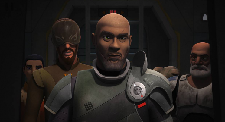 Saw Gerrera joins the 'Rebels' team (Disney/Lucasfilm)