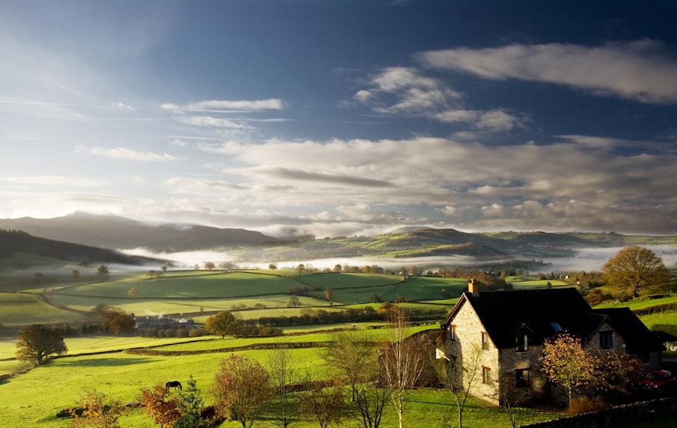 There are still some affordable rural places to buy property in the UK. (Getty Images)
