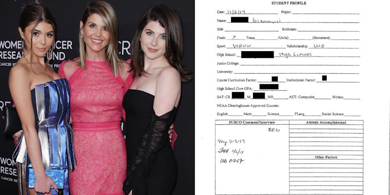 Alleged Fake Resume Used by Lori Loughlin's Daughter Released