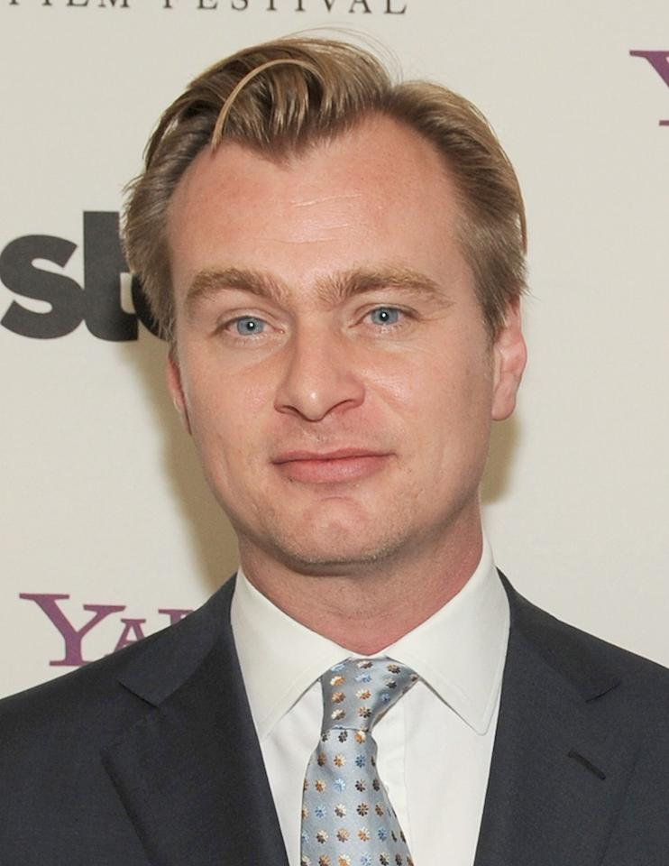 "<a href=""http://movies.yahoo.com/movie/contributor/1800021821"">Christopher Nolan</a> at the 12th Annual Hollywood Film Festival Awards Gala in Beverly Hills - 10/27/2008"