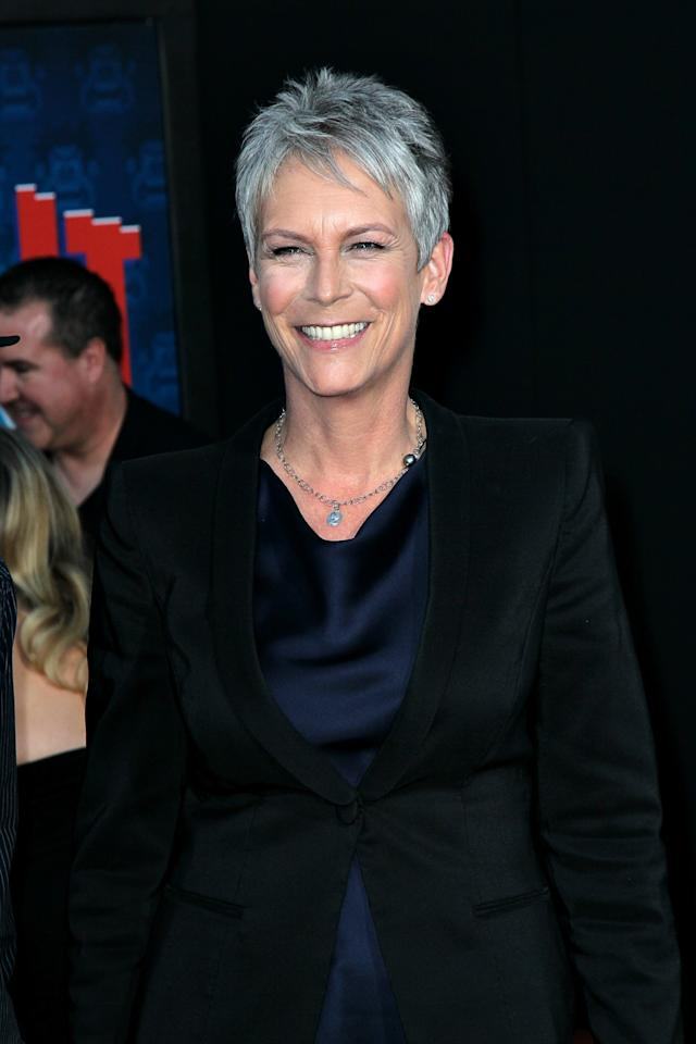 HOLLYWOOD, CA - OCTOBER 29:  Actress Jamie Lee Curtis at the El Capitan Theatre on October 29, 2012 in Hollywood, California.  (Photo by David Livingston/Getty Images)