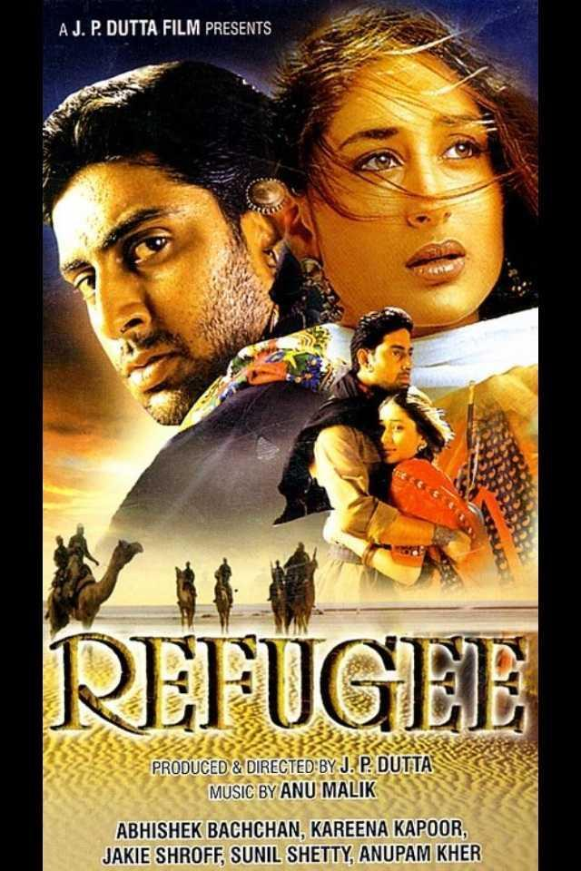 Bachchan made his acting debut in 2000 with J. P. Dutta's war/partition film Refugee. It was also the debut film of Kareena Kapoor. Although the film did not fare well at the box office, both Bachchan and Kapoor received positive reviews for their performances.