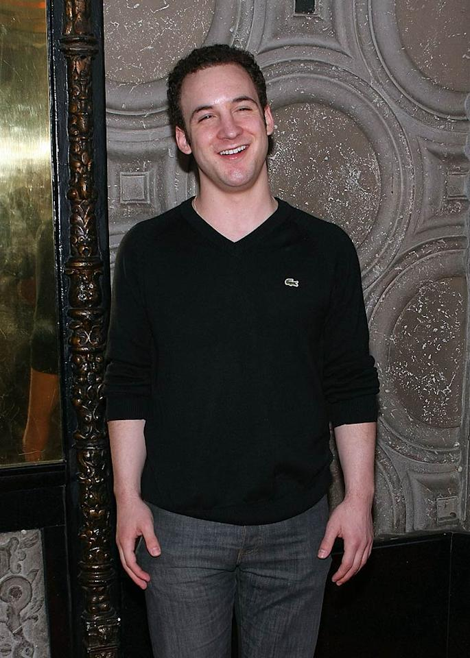 """Like his older brother Fred, Ben Savage was a successful child actor, playing the lead on """"Boy Meets World"""" for seven seasons. His 30th birthday was on September 13. Chelsea Lauren/<a href=""""http://www.wireimage.com"""" target=""""new"""">WireImage.com</a> - May 19, 2009"""