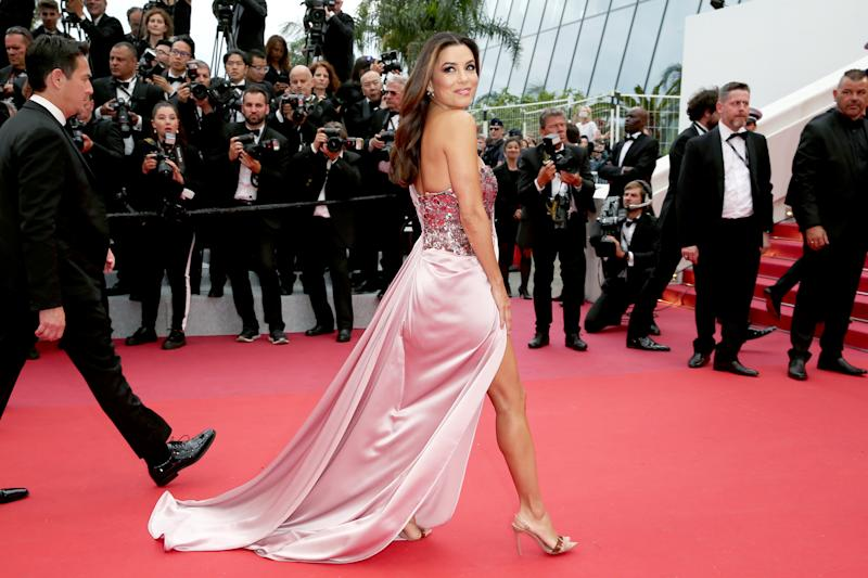 "CANNES, FRANCE - MAY 14: Eva Longoria attends the opening ceremony and screening of ""The Dead Don't Die"" during the 72nd annual Cannes Film Festival on May 14, 2019 in Cannes, France. (Photo by Gisela Schober/Getty Images)"