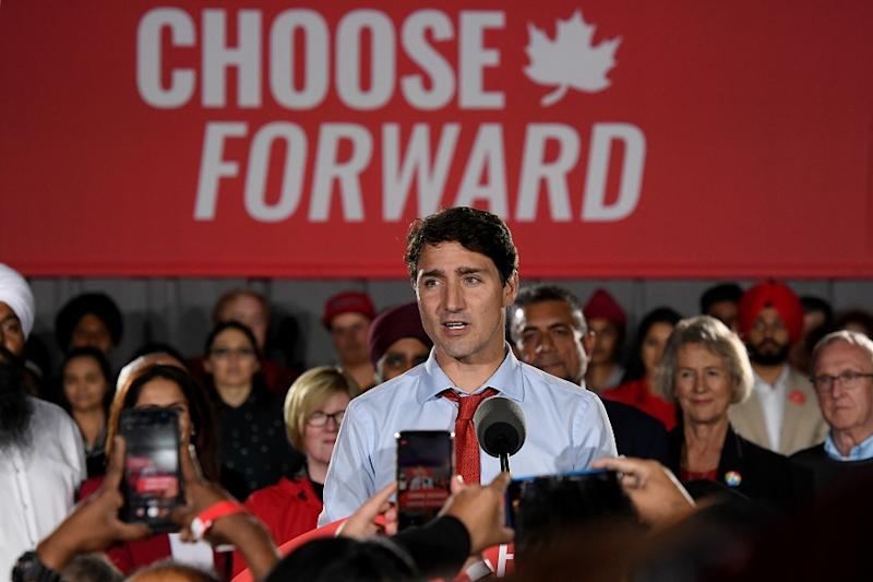 Canada's Trudeau, His 'Sunny Ways' Darkened by Scandals, Seeks to Retain Power in Election