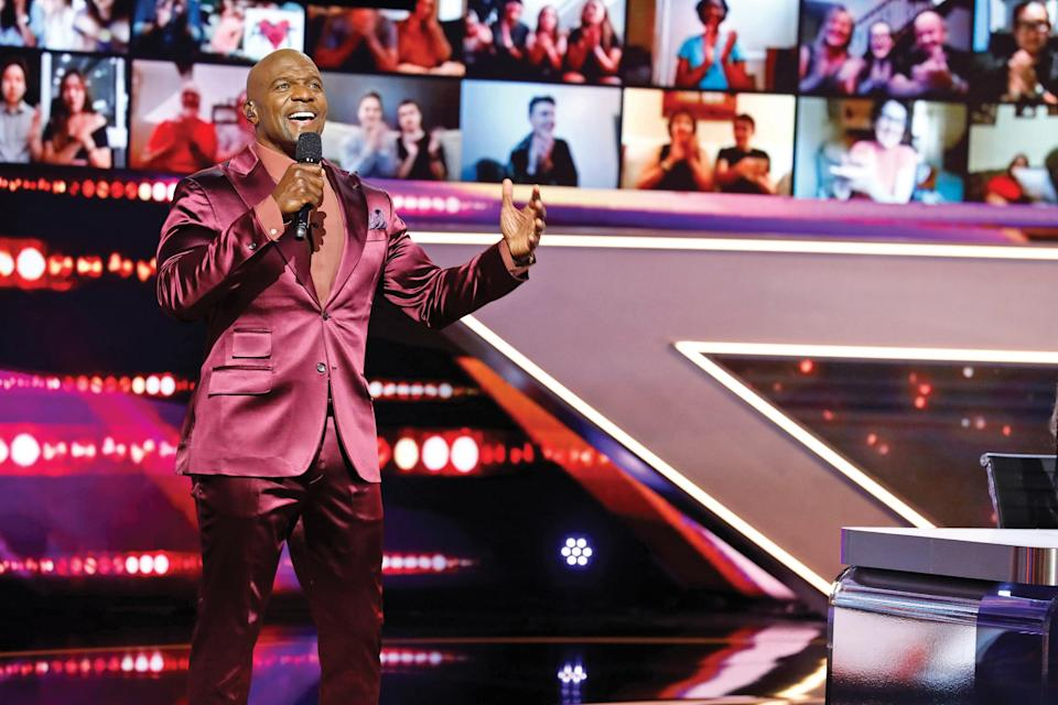 """Hosting """"America's Got Talent"""" lets Crews show off his real personality to millions. - Credit: Trae Patton/NBC"""