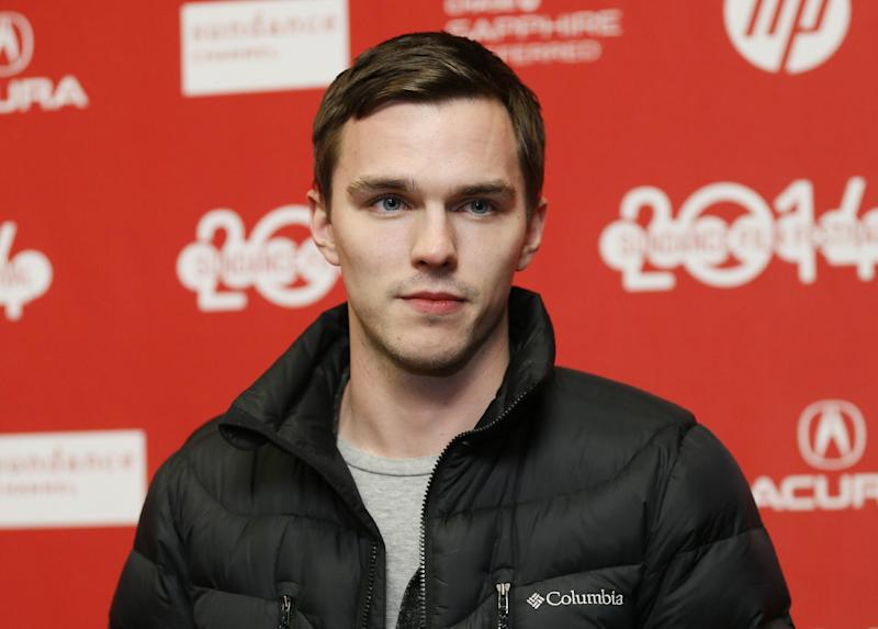 "Cast member Nicholas Hoult poses at the premiere of the film ""Young Ones"" during the 2014 Sundance Film Festival, on Saturday, Jan. 18, 2014 in Park City, Utah. (Photo by Danny Moloshok/Invision/AP)"