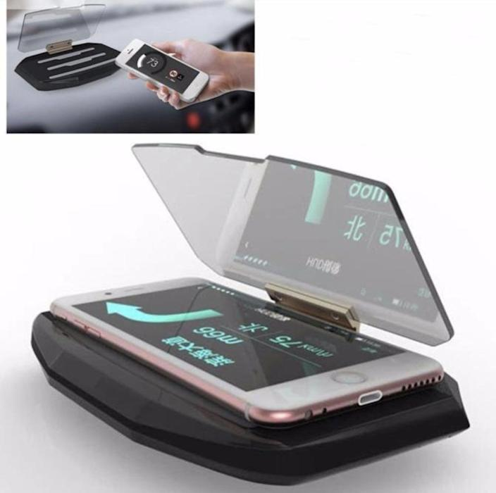 <p>You'll stop seeing them fumble around with their smartphone once you give them the <span>DZT1968 Universal GPS Navigation Display Phone Holder</span> ($20).</p>