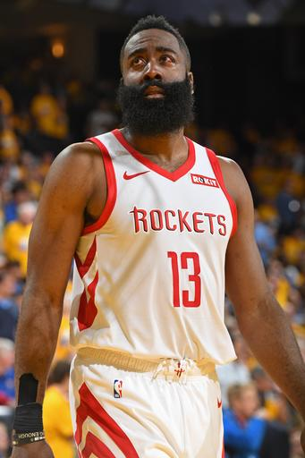 e1cc19be4b6f Harden still dealing with eye injury  will play in Game 3