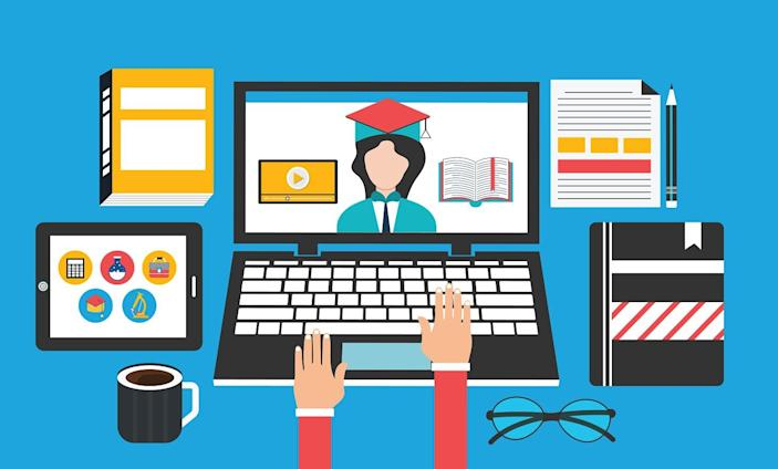 Courses from Ivy League universities are available on various e-learning platforms today, free of charge.
