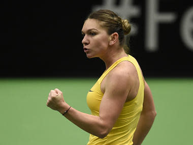 Fed Cup: Former number ones Karolina Pliskova and Simona Halep off to winning starts on opening day