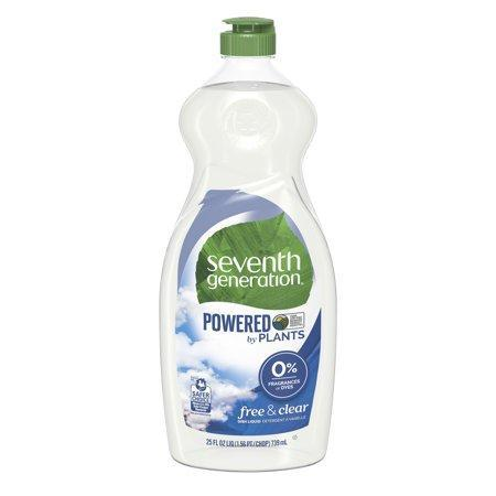 """<p><strong>Seventh Generation</strong></p><p>walmart.com</p><p><a href=""""https://go.redirectingat.com?id=74968X1596630&url=https%3A%2F%2Fwww.walmart.com%2Fip%2F14914720&sref=https%3A%2F%2Fwww.menshealth.com%2Fhealth%2Fg32145429%2Fbest-cleaning-products%2F"""" rel=""""nofollow noopener"""" target=""""_blank"""" data-ylk=""""slk:BUY IT HERE"""" class=""""link rapid-noclick-resp"""">BUY IT HERE</a></p><p>This plant-based soap is great for cleaning tough messes on your dishes while keeping your hands soft. It's also great for those looking for a more natural product, as it contains no fragrance, dyes, or phosphates in the formula. </p>"""