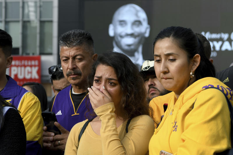Los Angeles unites in grief for adopted son Kobe Bryant
