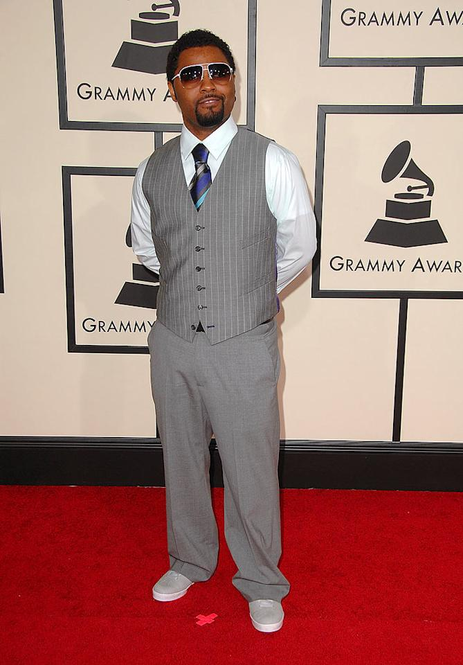 "Musiq Soulchild put his best foot forward on the red carpet. The singer was nominated for Best RnB Album, Best RnB Song, and Best Male RnB Performance. Steve Granitz/<a href=""http://www.wireimage.com"" target=""new"">WireImage.com</a> - February 10, 2008"