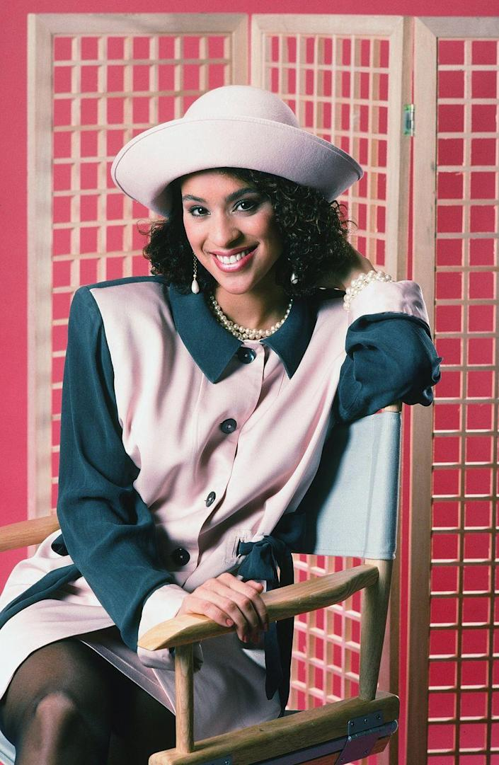 <p>You probably recognize Karyn Parson as Hilary Banks from <em>The Fresh Prince of Bel-Air</em>, which was her breakout role in 1990. Due to her fame from the hit show, Parsons also appeared in films such as <em>Major Payne </em>and <em>The Ladies Man</em>. </p>
