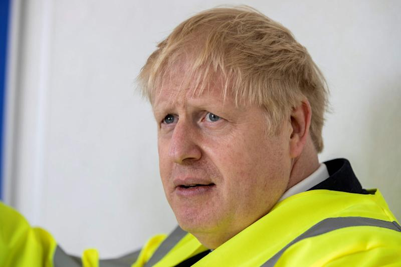 Boris Johnson faced criticism for his comments (POOL/AFP via Getty Images)