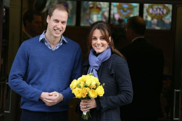 Kate Middleton Supports Prince William As He Remembers Princess Diana