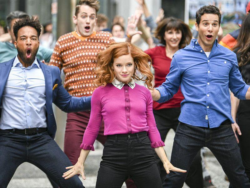 """<p><em>Zoey's Extraordinary Playlist </em><em></em>might just be the definition of """"feel good TV."""" Zoey Clarke (Jane Levy), a software engineer living in San Francisco, finds herself with an extraordinary ability: She can hear people's thoughts, but only in in pop-song form. After being briefly freaked out (and who wouldn't be?), Zoey makes it her mission to subtly help people using her knowledge. The show has infectious, feel-good energy, thanks to the torrent of hummable music and the cast of characters you can't help but root for. <br></p><p><a class=""""body-btn-link"""" href=""""https://www.amazon.com/gp/video/detail/B085BS5NC8/ref=atv_dl_rdr?tag=syn-yahoo-20&ascsubtag=%5Bartid%7C10072.g.25347318%5Bsrc%7Cyahoo-us"""" target=""""_blank"""">Watch Now</a></p>"""