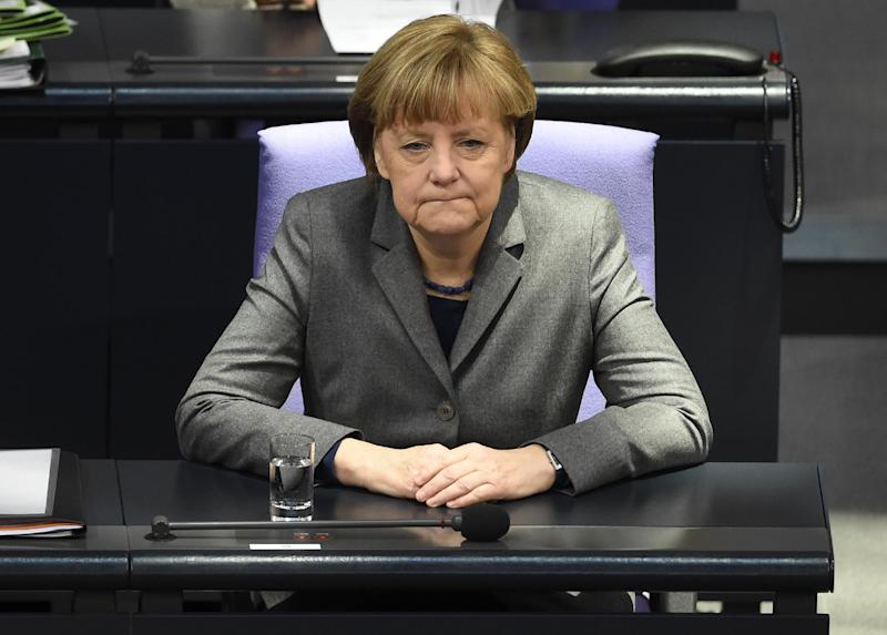 German Chancellor Angela Merkel has ruled out fresh debt relief for Greece (AFP Photo/Tobias Schwarz)